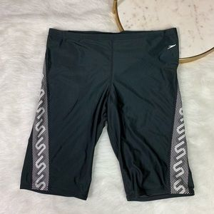 Speedo Jammers Swimsuit Compression Shorts Sz 36